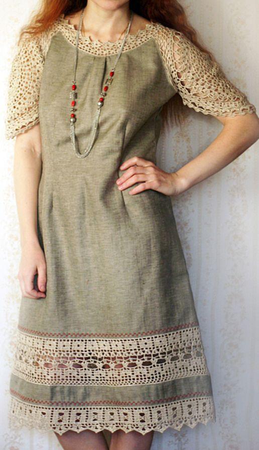 ₩₩₩ linen crochet