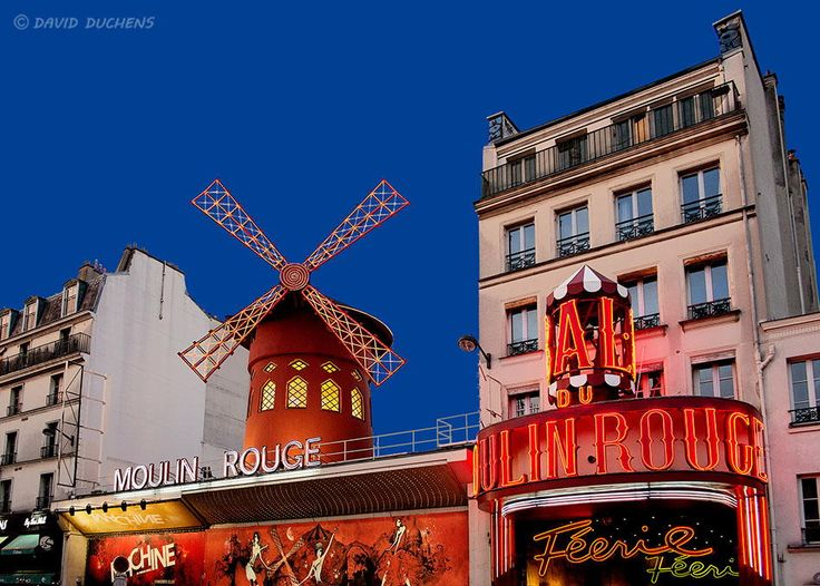 Moulin Rouge in Paris by David Duchens on 500px