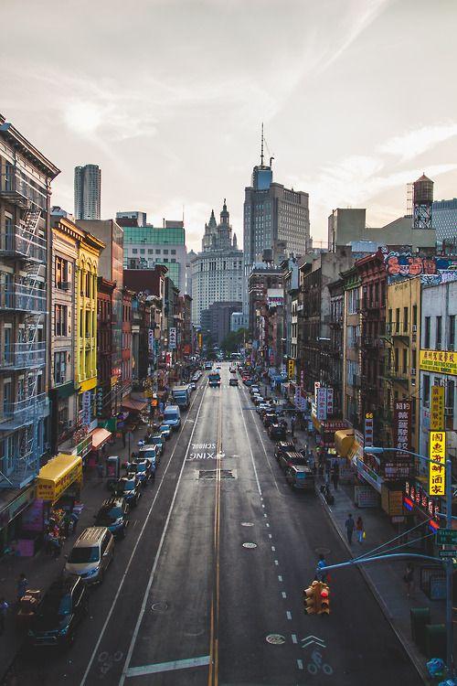 Chinatown, New York City.