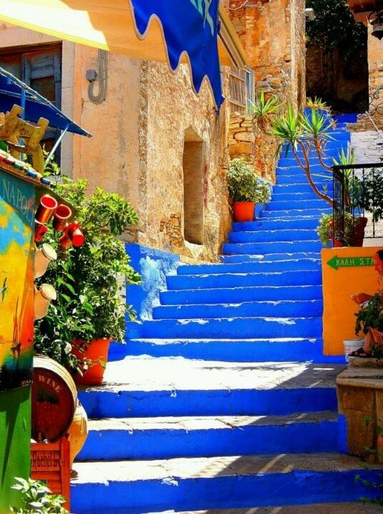 Coroful Syros Island