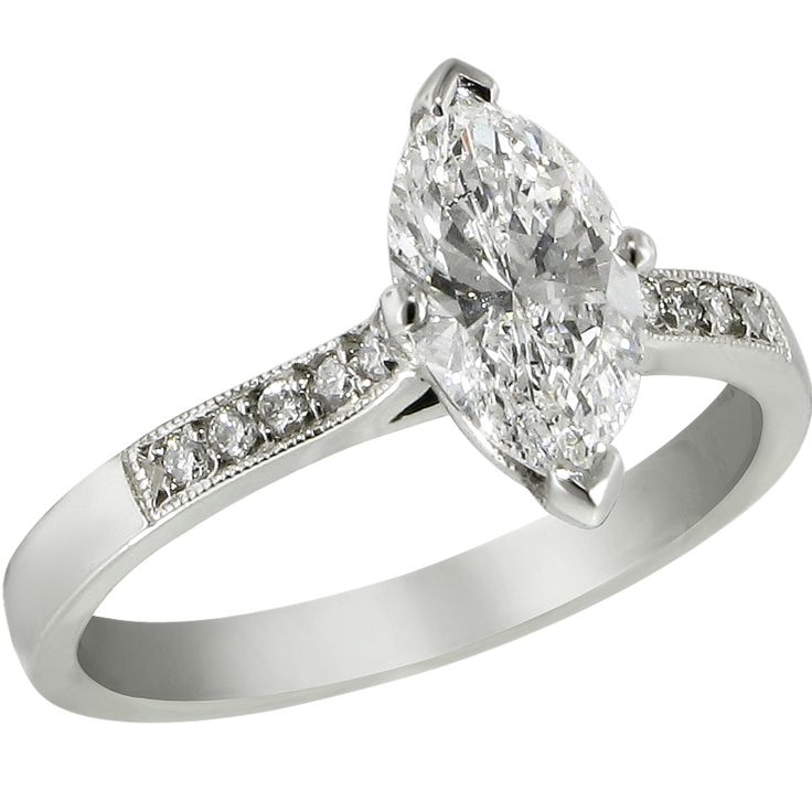 25 best ideas about Marquis diamond ring on Pinterest