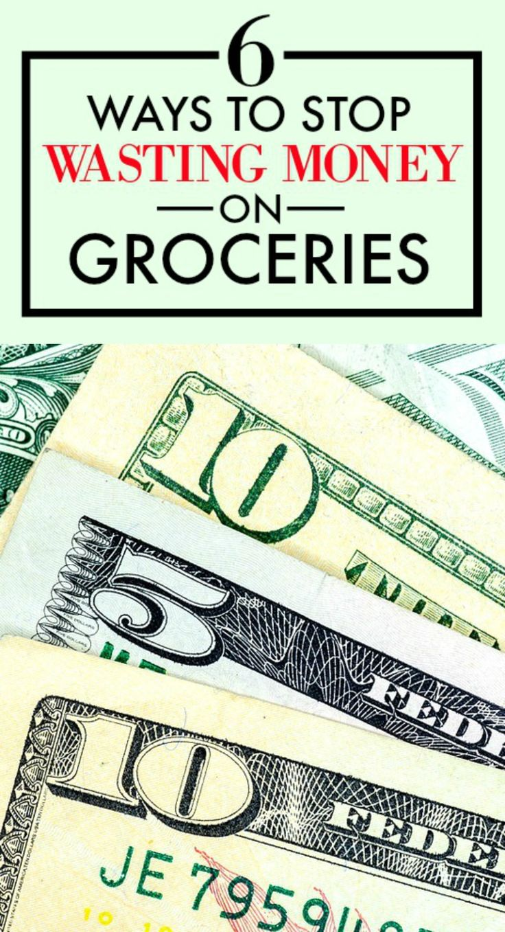 These 6 ways to stop wasting money on groceries are GREAT! I'm definitely doing these things the next time I make a food run! It's so HARD to stay on budget when I go grocery shopping. But I feel like I can actually save money now! This is SO HELPFUL! I'm definitely pinning for later!