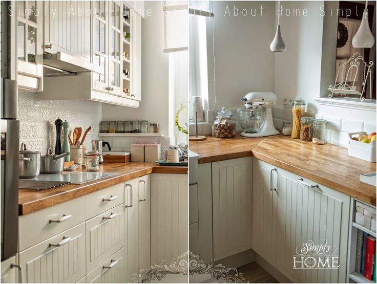 simply about home: Jak olejować drewniany blat kuchenny