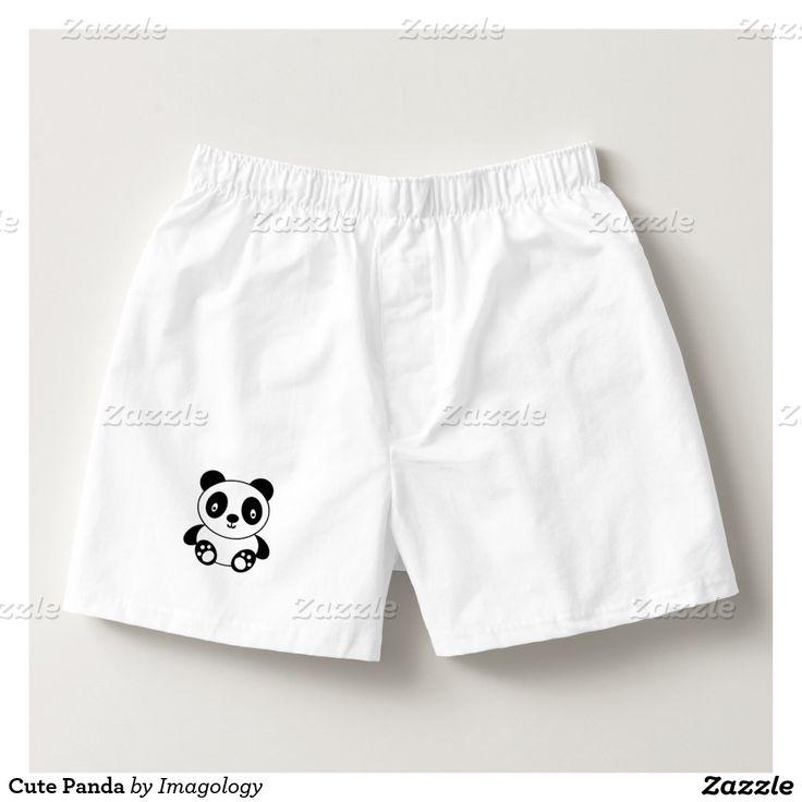 Cute Panda Boxers