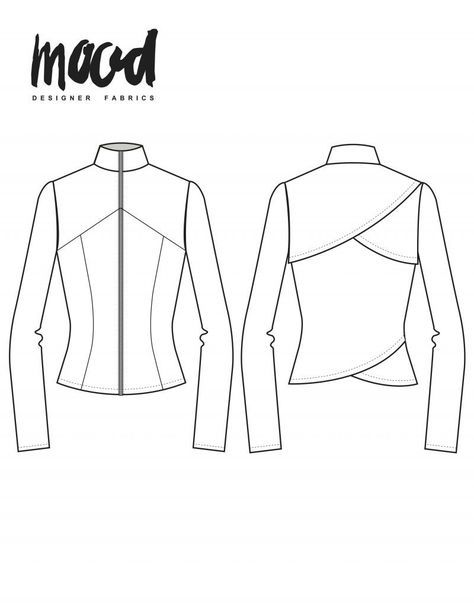 The Hawthorn Jacket Free Sewing Pattern Jacket Sewing Patterns