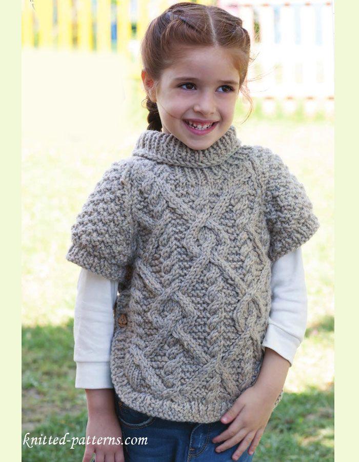 Free Knitting Patterns For Girls Sweaters : 1000+ images about maglia bambini su Pinterest Motivo gratuito, Ravelry e M...