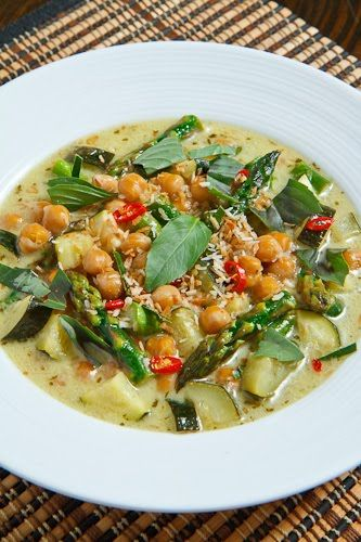 ... Chickpea Green Curry | Recipe | Sauces, Vegetarian curry and Curry