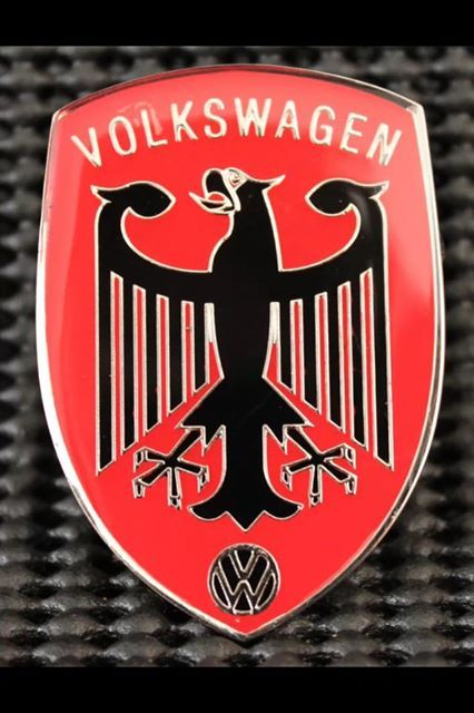Old school VW badge