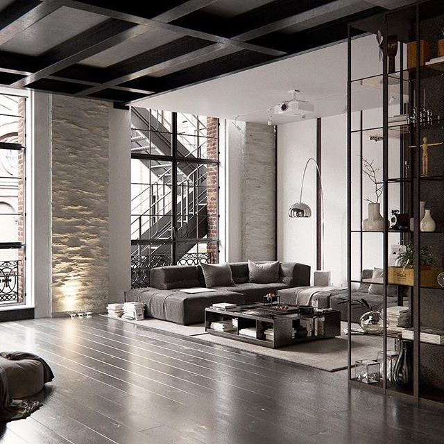 Loft Rentals Nyc: Cosmopolitan Loft Visualized By Andew Sadokha, New York