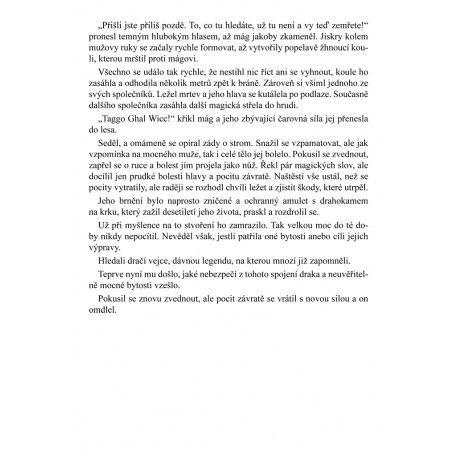 Czech fantasy book + prologue