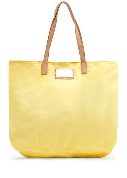 Mango Canvas Shopping Bag