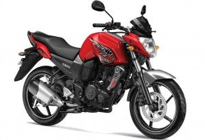 FZS Preying Red 300x205 Yamaha FZ S Bike Price & Specifications  in India