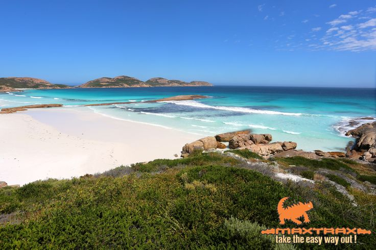 Lucky Bay located in the Cape Le Grand National Park, Western Australia - the colour of the water is sensational