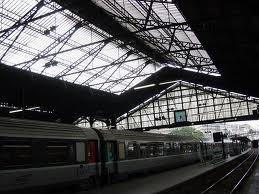 Gare St Lazare; still the way Monet saw it
