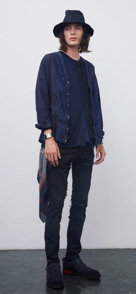 JohnUNDERCOVER 2016 SS Collection - Designer: Jun Takahashi - Model: Jaco Van Den Hoven