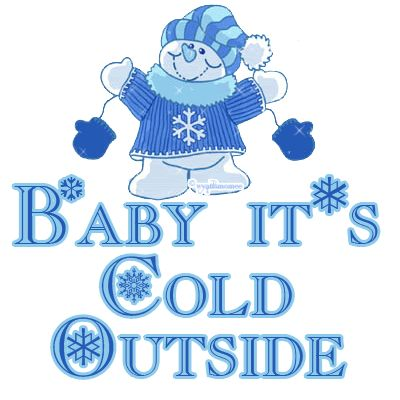 Funny Cold Weather Quotes | February 2, 2011} Baby, it's cold outside