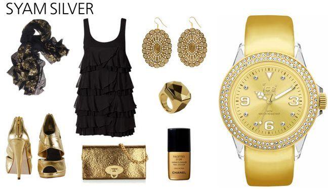 Szilveszter, arany, divat, buli és Ice-Watch!