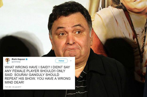 Someone Take Away Rishi Kapoor's Twitter Because He's Done It Again