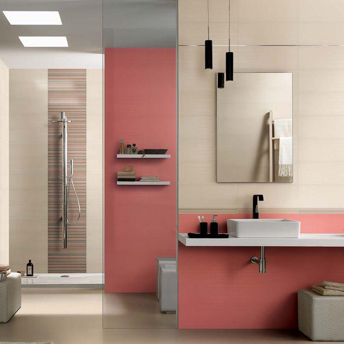 Pintar el bao simple ideas pintar bano en chocolate ideas - Color marfil en paredes ...