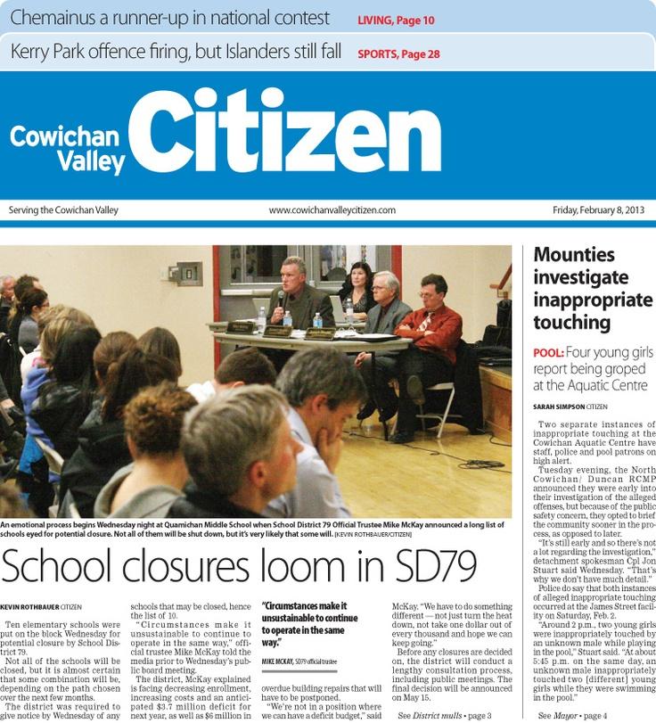 Citizen Front Page Feb. 8, 2013