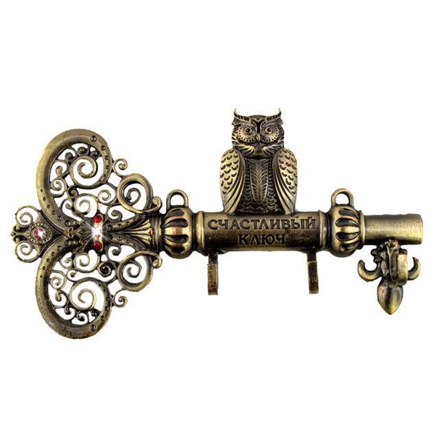 Screw Fixation,Wall Door Hook Hanger.Living Room & Kitchen Vintage Hook Owl