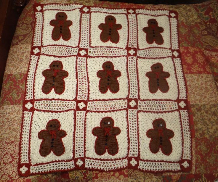 Gingerbread Blanket Knitting Pattern : 17 Best images about Crochet on Pinterest Free pattern, Cashmere yarn and C...