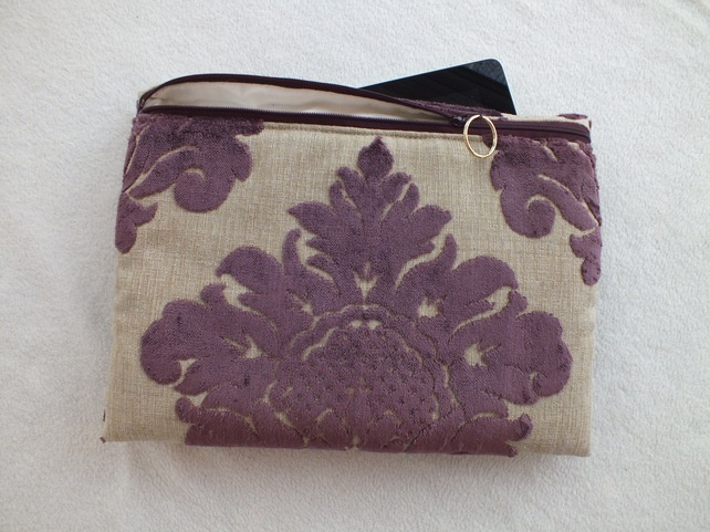 Purple and Beige Tablet Gadget Sleeve, Galaxy Tab2 10.1 or Similar £16.00