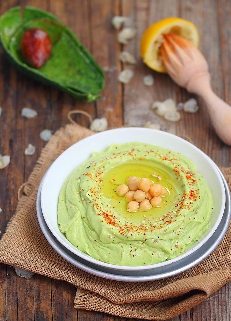 Une idée simple avec cetterecette minute de houmous verdoyant ou serencontredeux univers entre le guacamole et la purée de pois chic...