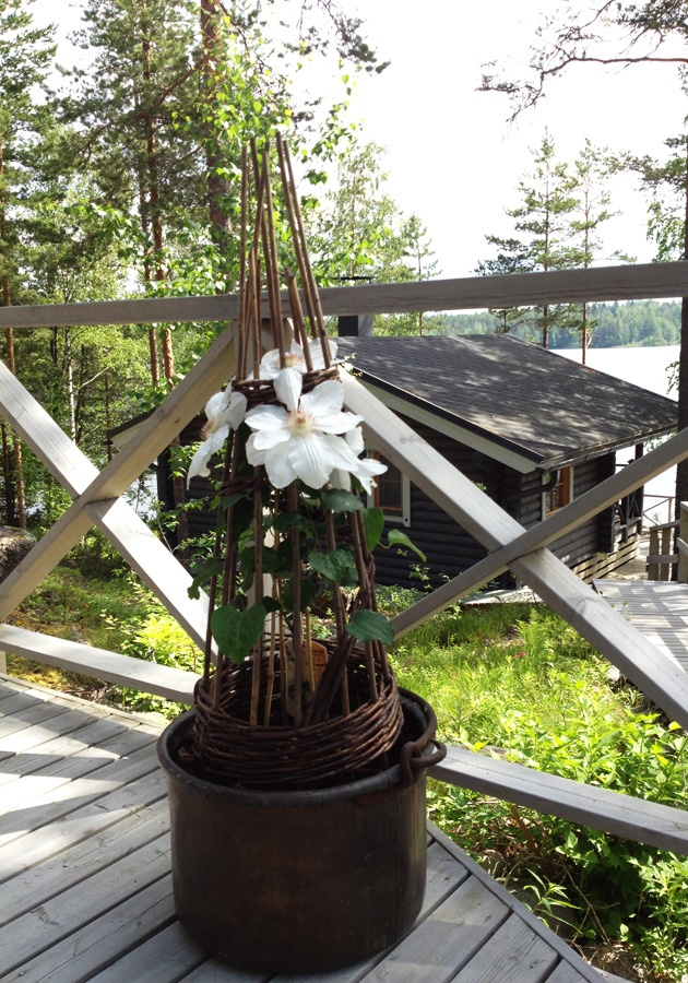Sauna by lake - Saimaa, Finland