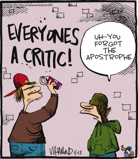Everyones A Critic Smile If You Are A Writer Pinterest