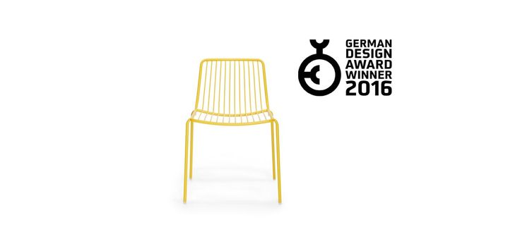 Nolita, the chair with iconic shape completely made of steel, designed by Simone Mandelli and Antonio Pagliarulo for Pedrali, has been awarded with the German Design Award 2016 in the Gardening and Outdoor Living category. Nolita is available from SW Contracts 011 262 3521 info@swcontracts.co.za www.swcontracts.co.za