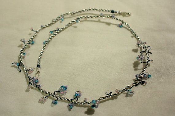 """""""Winter Twist"""" #unique #gift 18inch Sterling Silver #Necklace by @blueriderartsUK http://etsy.me/1wGhIck"""