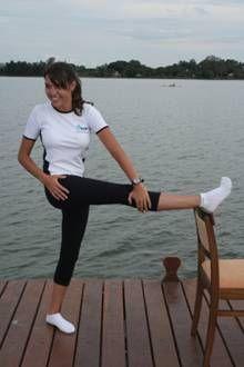 """(Posterior e lateral da coxa """"tensor da fascia lata e trato iliotibial"""""""