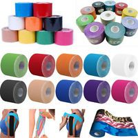 14 Colors Kinesiology Tape Athletic Muscle Support Sport Physio Therapeutic Tape