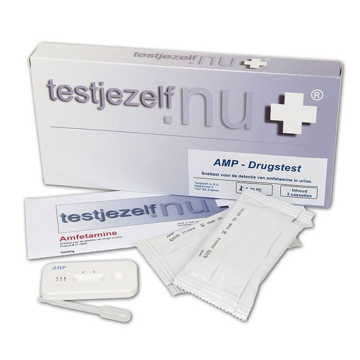 Testjezelf.nu Drugstest amfetamine (speed) in urine (3)