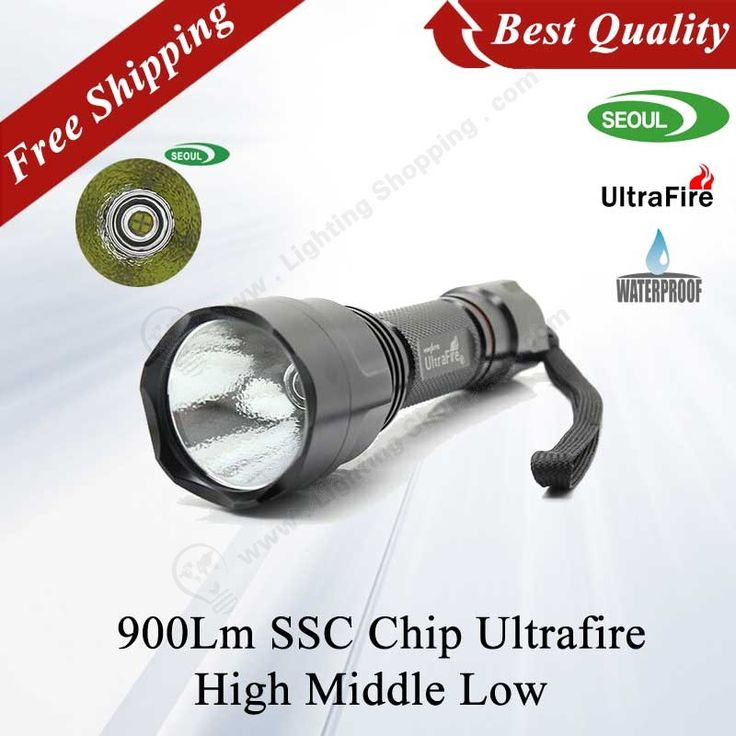 Best #LED Flashlights UltraFire, SSC Chip, Seoul Semiconductors Bulbs, 10W, 1000Lm, High-Middle-Low 3 Mode - See more at: http://www.lightingshopping.com/ultrafire-led-flashlights-ssc-chip-seoul-semiconductors-bulbs-10w-1000lm-3-mode.html