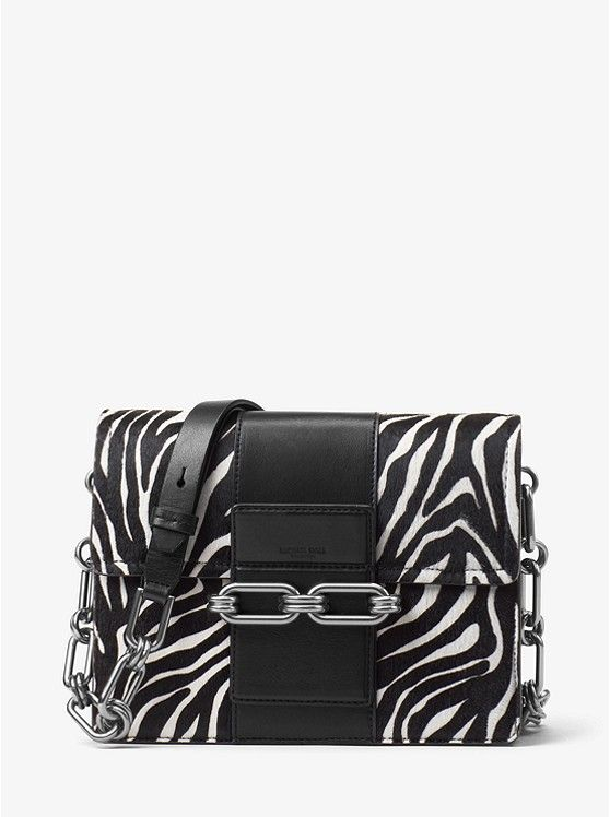 136e735c0552d1 Cate Medium Zebra Calf Hair Shoulder Bag | bags in 2019