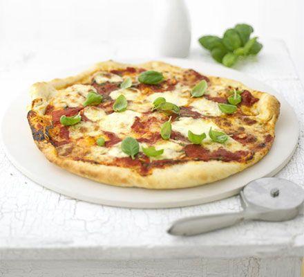 Pizza rústica estilo italiano :: El blog de la pizza