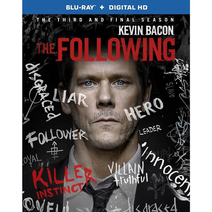 The Following: The Complete Third Season [3 Discs] [Blu-ray]