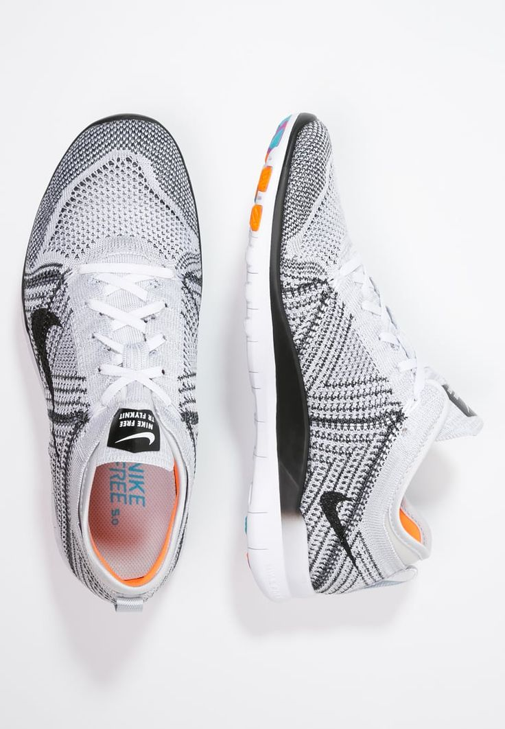Nike Performance FREE TR FLYKNIT - Trainers - white/black/pure  platinum/hyper violet for with free delivery at Zalando