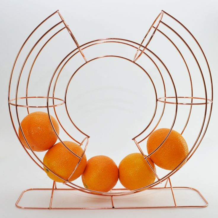 Circular Copper Fruit Dispenser Stand - PIN IT TO WIN IT Christmas 2015