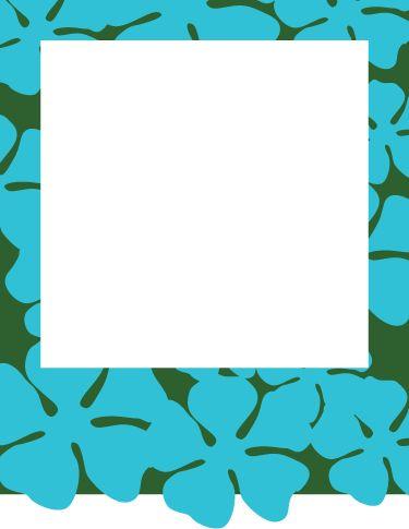 Free Printable Hawaiian Luau Party Invitations