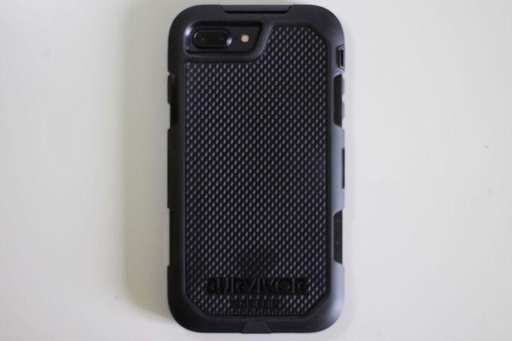 Une coque qui respecte les normes militaires, la Survivor par Griffin pour iPhone 7 Plus