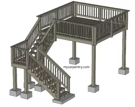 how to build outside steps for a house