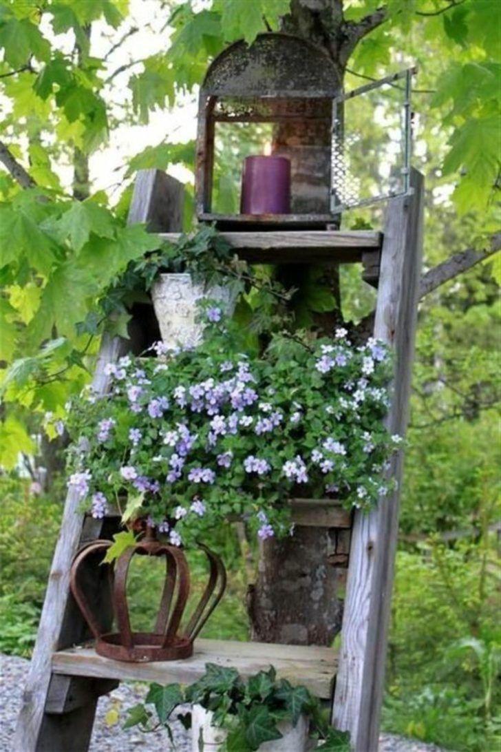 Rustic garden ornaments - 12 Shabby Chic Bohemian Garden Ideas