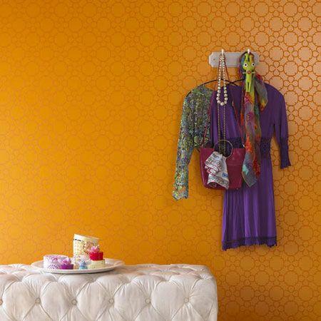 17 beste idee n over behangpapier schilderen op pinterest verf behang geschilderd behang en - Behang effect van materie ...