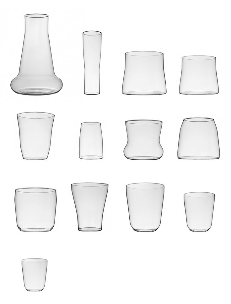 Glassware by Aldo Bakker for Thomas Eyck. The glassware collection by Aldo Bakker is characterized by refinement. Each part of the design is in harmony with the overall design http://www.wannekes.com/en/modern-design-glassware-contemporary-drinking-glasses-carafes/1376-carafe-aldo-bakker-glassware-thomas-eyck.html.