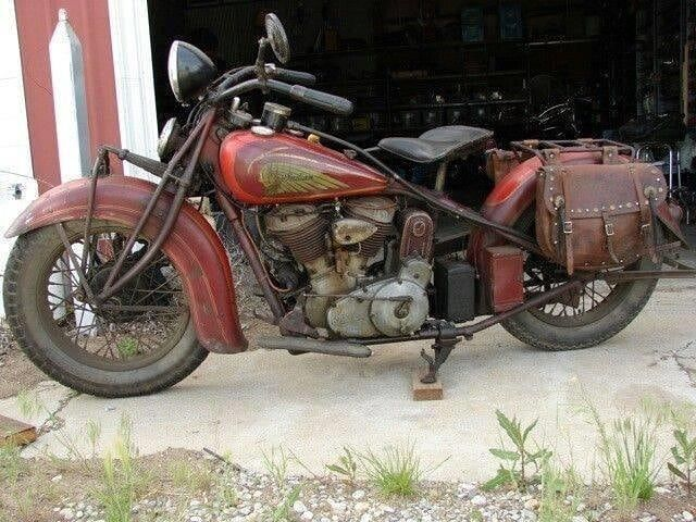Amca Antique Motorcycle Club On Instagram 1936 Indian Chief Original Paint With Chinese Red And Vintage Indian Motorcycles Indian Motorcycle Indian Motorbike
