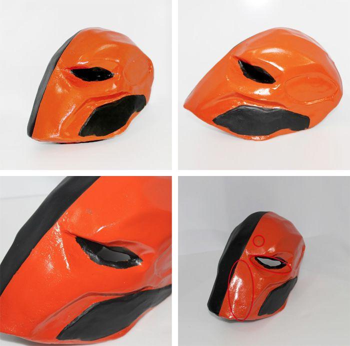 Deathstroke Mask - Exterminador (DC Comics)  Template Download Cake Lie Blog