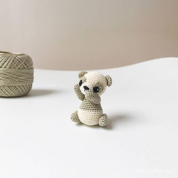 Tiny Crochet Panda - $38  See full crochet collection at Kargow.com